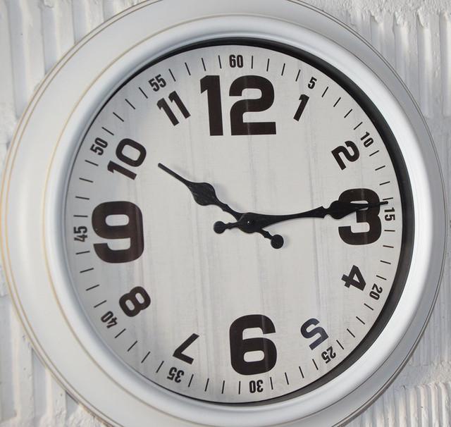 """Настенные часы """"Венеция"""" white (35 см.)"""