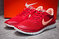 Кроссовки женские 12995, Nike Air Free 3.0, красные ( 37  )
