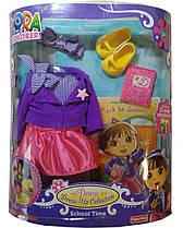 Набор одежды для куклы Даша-путешественница Fisher-Price Dora the Explorer Dress Up Collection