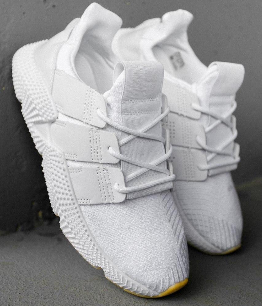 Кроссовки мужские Adidas Prophere белые (Top replic)
