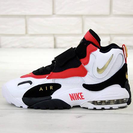Кроссовки мужские Nike Air Max Speed Turf белые-красные (Top replic), фото 2