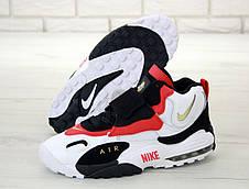 Кроссовки мужские Nike Air Max Speed Turf белые-красные (Top replic), фото 3