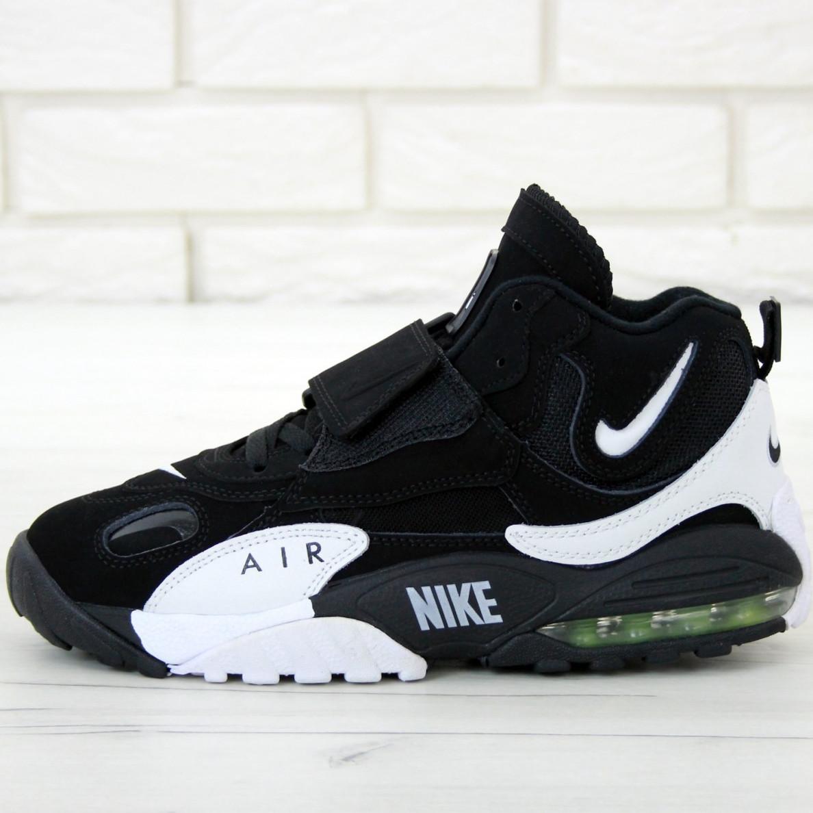 Кроссовки мужские Nike Air Max Speed Turf белые-черные (Top replic)