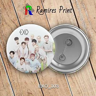 Значок K-Pop EXO 003