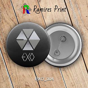 Значок K-Pop EXO 004