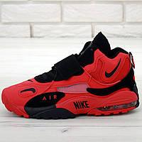 Кроссовки мужские Nike Air Max Speed Turf красные-черные (Top replic)