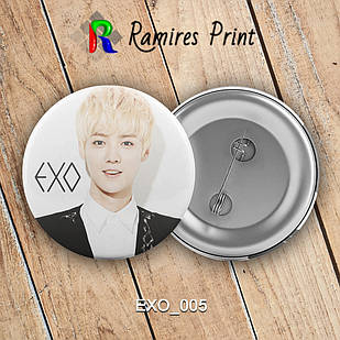 Значок K-Pop EXO 005