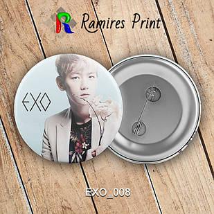 Значок K-Pop EXO 008