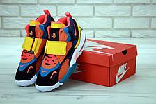Кроссовки мужские Nike Air Max Speed Turf оранжевые-синие (Top replic), фото 3