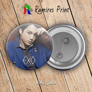 Значок K-Pop EXO 009