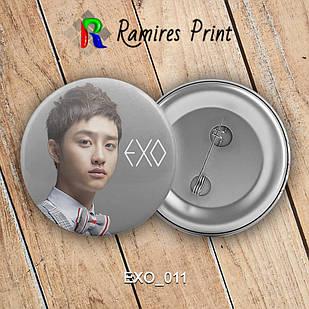 Значок K-Pop EXO 011