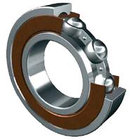 Подшипник 628 2RS 8х24х8 мм шариковый радиальный однорядный закрытый, сталь\резина