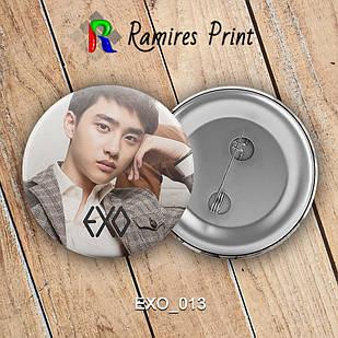 Значок K-Pop EXO 013