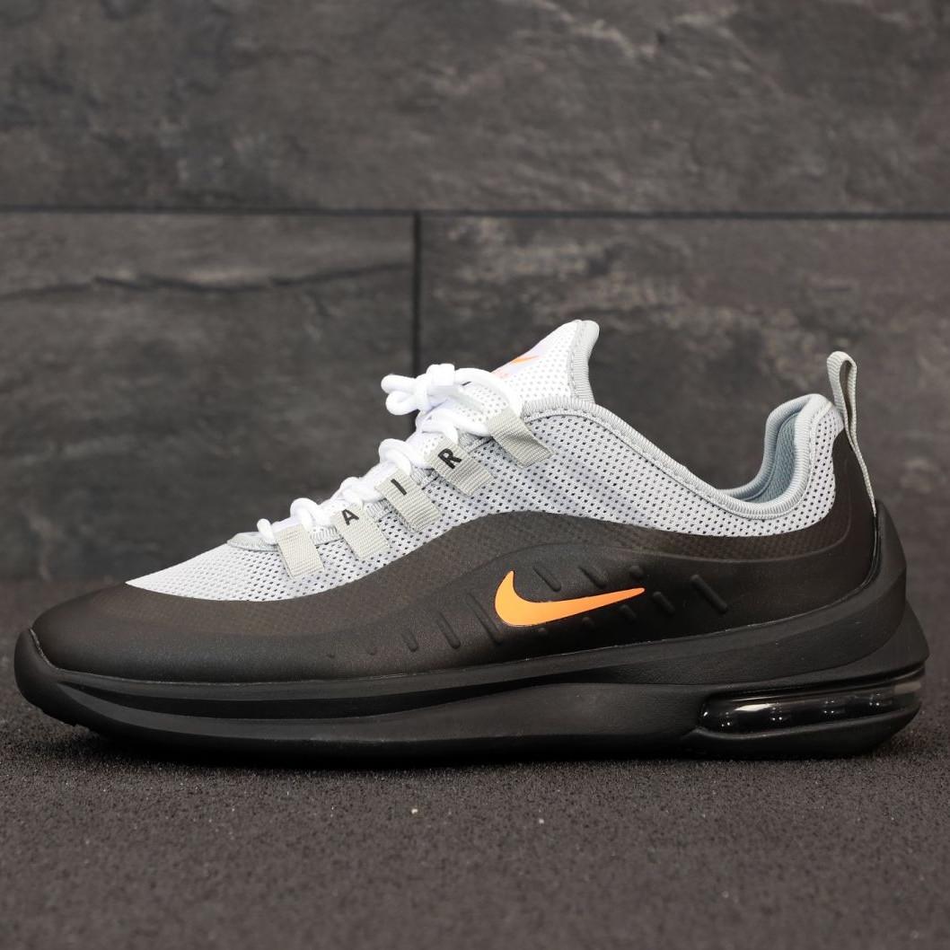Кроссовки мужские Nike Air Max Axis серые-черные (Top replic)