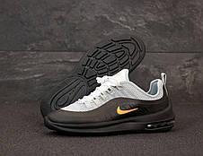 Кроссовки мужские Nike Air Max Axis серые-черные (Top replic), фото 2