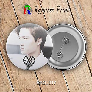 Значок K-Pop EXO 017