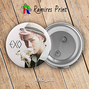 Значок K-Pop EXO 018