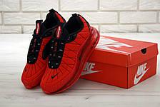 Кроссовки мужские Nike Air Max AM-720-818 красные (Top replic), фото 3