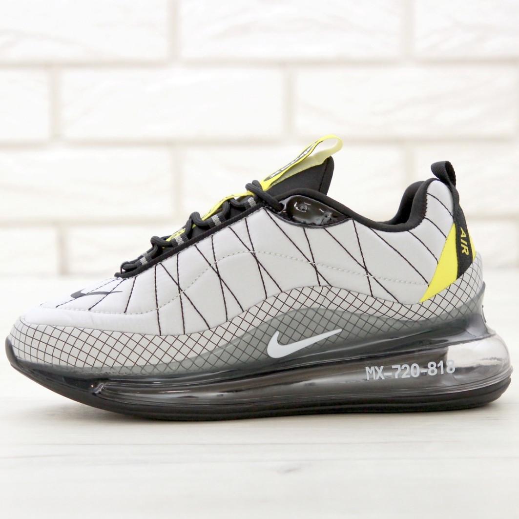 Кроссовки мужские Nike Air Max AM-720-818 серые (Top replic)