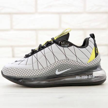 Кроссовки мужские Nike Air Max AM-720-818 серые (Top replic), фото 2