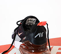 Кроссовки мужские Nike Air Max 270 черные-оранжевые (Top replic), фото 2