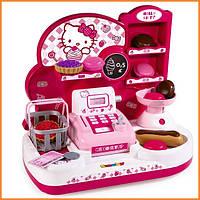 Детский мини-магазин с кассой Hello Kitty Smoby 24085