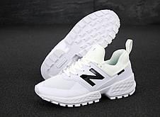 Кроссовки мужские New Balance 574 белые (Top replic), фото 3
