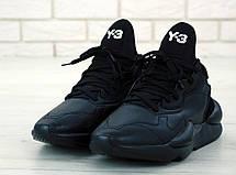 Кроссовки мужские Adidas Y-3 KAIWA черные (Top replic), фото 2