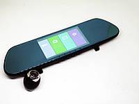 Зеркало заднего вида регистратор V9TP 3 камеры 5 дюймов, фото 1