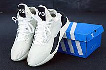 Кроссовки мужские Adidas Y-3 KAIWA белые (Top replic), фото 3