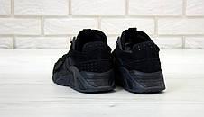 Кроссовки мужские Adidas Streetball черные (Top replic), фото 2
