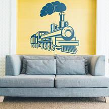 Трафарет поезда в детскую комнату 95 х 100 см, фото 2