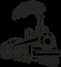 Трафарет поезда в детскую комнату 95 х 100 см, фото 3