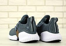 Кроссовки мужские Adidas Continental серые (Top replic), фото 2