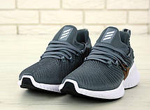 Кроссовки мужские Adidas Continental серые (Top replic), фото 3