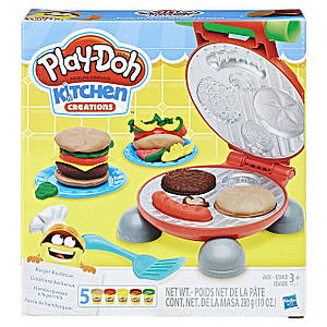 Набор Play-Doh Kitchen Creations Burger Barbecue