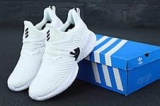 Кроссовки мужские Adidas Continental белые (Top replic), фото 2