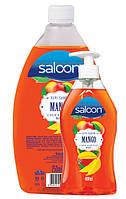 Жидкое мыло для рук МАНГО Saloon 400+750 мл., фото 1