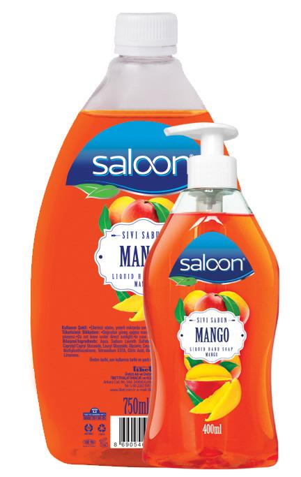 Жидкое мыло для рук МАНГО Saloon 400+750 мл.