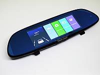 Зеркало регистратор заднего вида H10 2 камеры 7 дюймов, фото 1