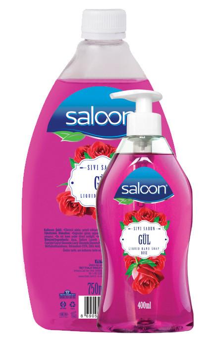 Жидкое мыло для рук РОЗА Saloon 400+750 мл.
