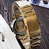 Winner 8067 Gold-Black-Gold Red Cristal Мужские наручные часы механические с автоподзаводом - Фото