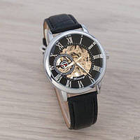 Forsining 8099 Black-Silver-Black Часы мужские наручные механические