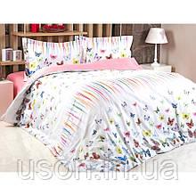 Комплект постельного белья из сатина евро размер TM Irya Armany