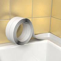 Плинтус , бордюрная лента для ванны ofitex 62 мм х 3.2 м. Польша, фото 1