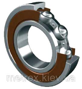 Подшипник 6001 RS 2RS 12х28х8 мм шариковый радиальный однорядный закрытый, сталь\резина