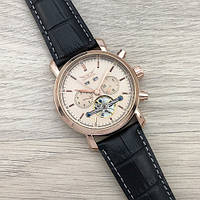 Jaragar 540 Black-Cuprum Мужские наручные часы механические с автоподзаводом