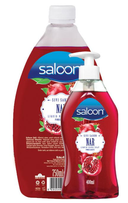 Жидкое мыло для рук ГРАНАТ Saloon 400+750 мл.