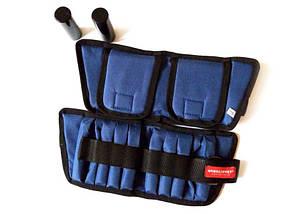 Утяжелители универсальные для рук и ног 2х2 кг (груз 250 г – 16 шт., металл), фото 2