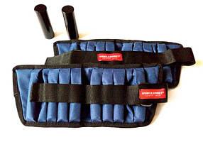 Утяжелители универсальные для рук и ног 2х2 кг (груз 250 г – 16 шт., металл), фото 3